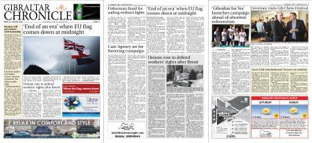 Gibraltar Chronicle – 31 January 2020