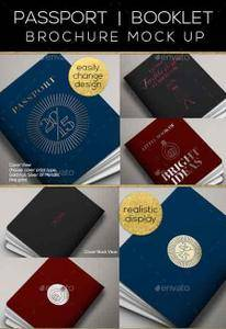 GraphicRiver - Passport Booklet Photo Realistic Mock Up