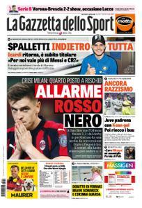 La Gazzetta dello Sport Roma – 03 aprile 2019