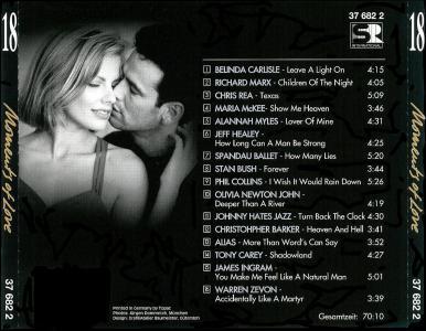 VA - Moments of Love - Part 4 - CD 16..20