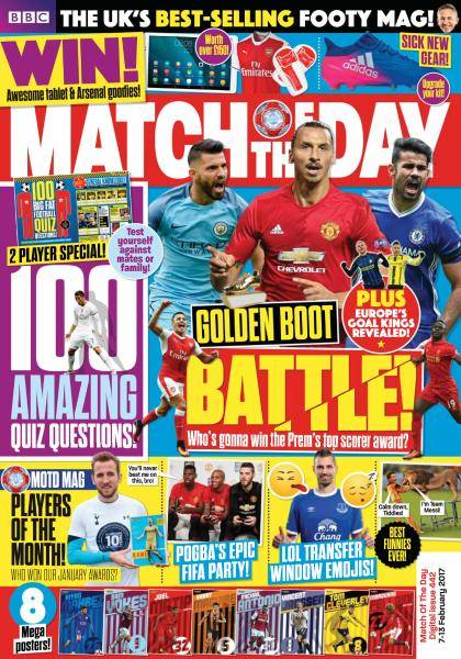 Match of the Day - Issue 442 - 7-13 February 2017