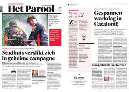 Het Parool – 30 oktober 2017