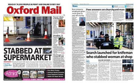 Oxford Mail – March 13, 2019