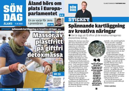 Ålandstidningen – 07 oktober 2018