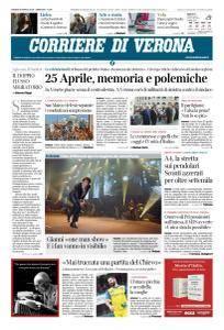 Corriere di Verona - 26 Aprile 2018