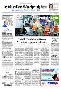 Lübecker Nachrichten Ostholstein Süd - 15. Mai 2019