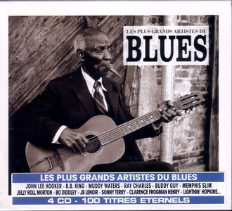 Les plus Grands Artistes de BLUES - Coffret 4 CD (100 Titres) @320