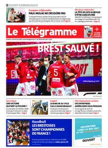 Le Télégramme Ouest Cornouaille – 24 mai 2021