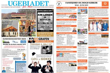 Ugebladet for Møn – 25. april 2019