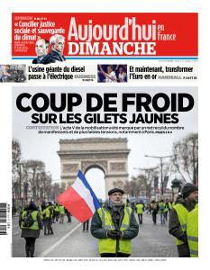 Aujourd'hui en France du Dimanche 16 Décembre 2018