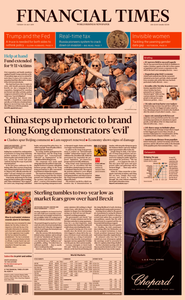 Financial Times USA – 30 July 2019