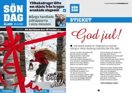 Ålandstidningen – 24 december 2017