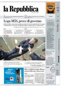 la Repubblica - 15 Marzo 2018