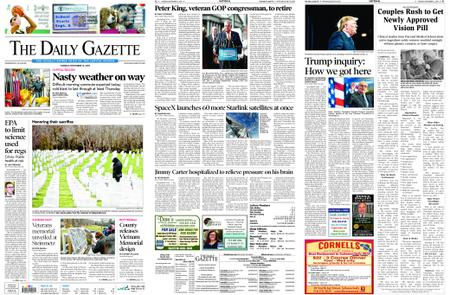 The Daily Gazette – November 12, 2019