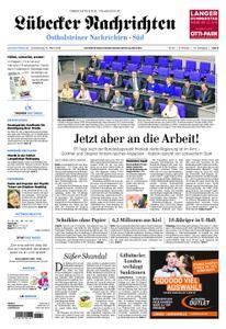 Lübecker Nachrichten Ostholstein Süd - 15. März 2018