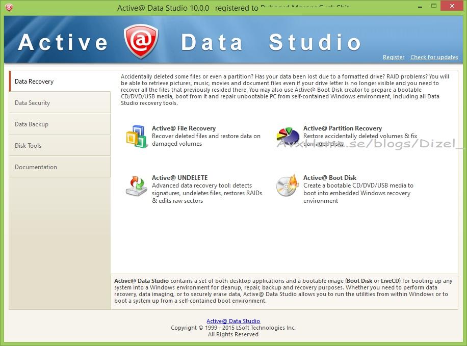 Active Data Studio 10.0.3.1