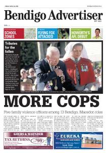 Bendigo Advertiser - April 26, 2019