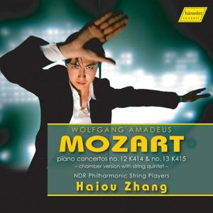 Haiou Zhang & NDR Philharmonic String Players - Mozart: Piano Concertos Nos. 12 & 13 (Arr. I. Lachner) (2019)