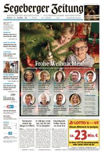 Segeberger Zeitung – 24. Dezember 2019