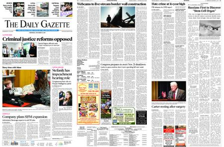 The Daily Gazette – November 13, 2019