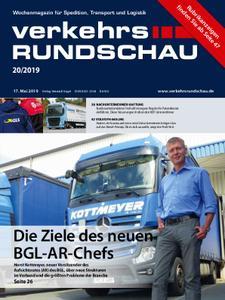 VerkehrsRundschau - 14. Mai 2019