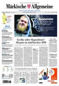 Neue Oranienburger Zeitung - 16. Januar 2018