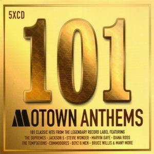 VA - 101 Motown Anthems (5CD, 2017)