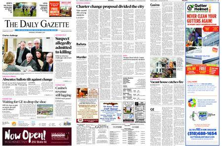 The Daily Gazette – November 15, 2017