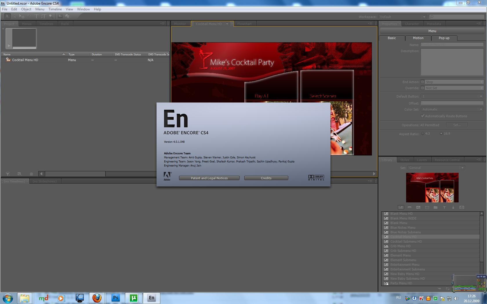 Adobe Encore CS4 Content 4.0.1.048 [Multi]