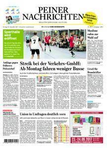 Peiner Nachrichten - 22. September 2017