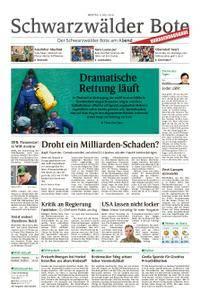 Schwarzwälder Bote Sulz - 09. Juli 2018
