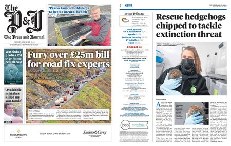 The Press and Journal Moray – April 29, 2021