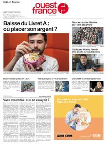 Ouest-France Édition France – 17 janvier 2020