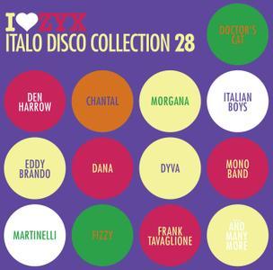 VA - I Love ZYX Italo Disco Collection 28 (2019)