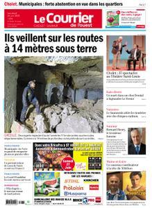 Le Courrier de l'Ouest Cholet – 26 juin 2020