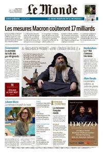 Le Monde du Jeudi 2 Mai 2019