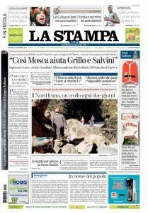 La Stampa Torino Provincia e Canavese - 9 Dicembre 2017