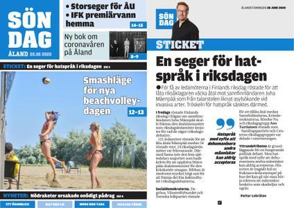 Ålandstidningen – 28 juni 2020