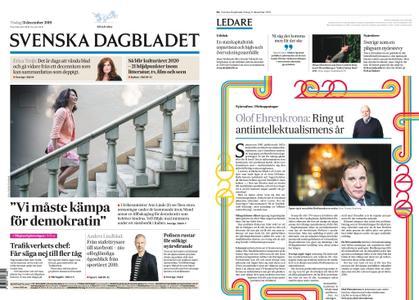 Svenska Dagbladet – 31 december 2019