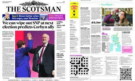 The Scotsman – September 26, 2017