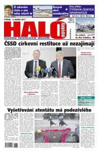 Haló noviny - 5. dubna 2017