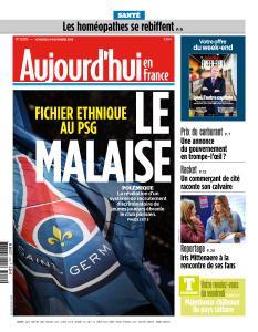 Aujourd'hui en France du Vendredi 9 Novembre 2018