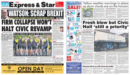 Express and Star City Edition – June 18, 2019