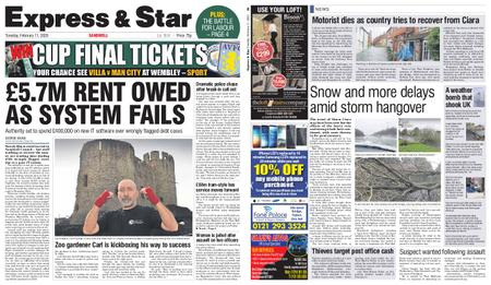 Express and Star Sandwell Edition – February 11, 2020