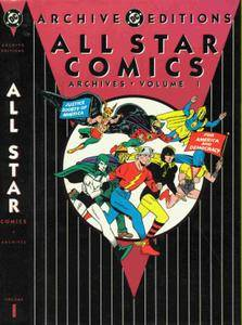 DC Archive Editions - All-Star Comics Archives - Volume 1 1991 DC 276P