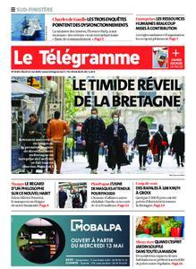 Le Télégramme Ouest Cornouaille – 12 mai 2020