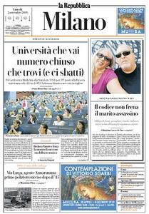 la Repubblica Milano - 2 Settembre 2019