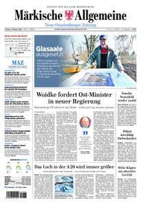 Neue Oranienburger Zeitung - 09. Februar 2018