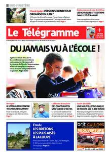 Le Télégramme Ouest Cornouaille – 13 mai 2020