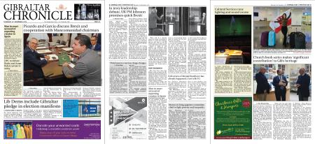 Gibraltar Chronicle – 21 November 2019